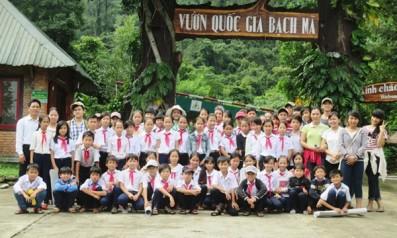 Câu lạc bộ Xanh tham quan, học tập tại Vườn quốc gia Bạch Mã