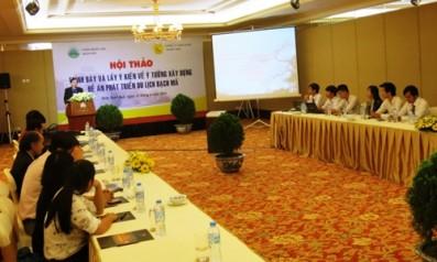 Hội thảo về ý tưởng xây dựng đề án phát triển du lịch Bạch Mã