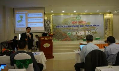 Vườn quốc gia Bạch Mã tổ chức Hội nghị sơ kết công tác bảo vệ và phát triển rừng 6 tháng đầu năm và phương hướng nhiệm vụ 6 tháng cuối năm 2017 tại địa bàn huyện Đông Giang