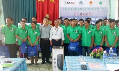 Vườn quốc gia Bạch Mã phối hợp với dự án Trường Sơn Xanh tỉnh Thừa Thiên Huế tổ chức Lễ ra mắt nhóm Bảo tồn cộng đồng xã Thượng Nhật