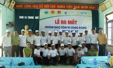 Vườn quốc gia Bạch Mã tổ chức lễ ra mắt Nhóm bảo tồn vì cộng đồng xã Thượng Nhật