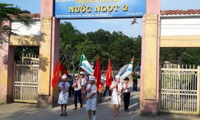 Vườn quốc gia Bạch Mã tổ chức diễu hành cổ động tuyên truyền bảo vệ rừng trên địa bàn xã Lộc Thủy, huyện Phú Lộc, tỉnh Thừa Thiên Huế
