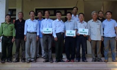 Vườn quốc gia Bạch Mã hỗ trợ xây dựng công trình công cộng và phát triển sinh kế cho cộng đồng dân cư vùng đệm năm 2018