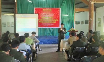 Vườn quốc gia Bạch Mã tổ chức Hội nghị triển khai nhiệm vụ quản lý bảo vệ rừng và phòng cháy chữa cháy rừng năm 2017 trên địa bàn huyện Nam Đông, tỉnh Thừa Thiên Huế