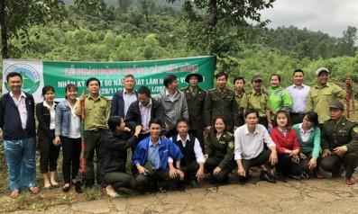 Vườn quốc gia Bạch Mã phát động phong trào trồng cây nhân kỷ niệm 60 năm ngày Lâm nghiệp Việt Nam ( 28/11/1959 – 28/11/2019)