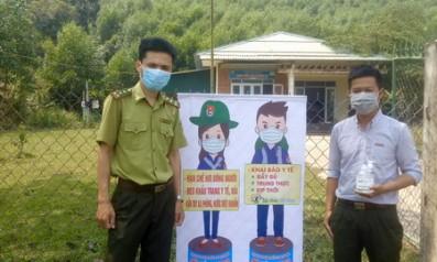Chi đoàn thanh niên cộng sản Hồ Chí Minh Vườn quốc gia Bạch Mã tăng cường công tác tuyên truyền phòng chống dịch bệnh Covid – 19