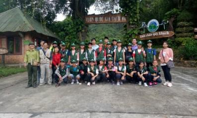 Tour du lịch trải nhiệm và khám phá thiên nhiên Vườn quốc gia Bạch Mã