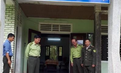 Vườn quốc gia Bạch Mã tiếp nhận cá thể Mèo rừng từ Hạt kiểm lâm huyện Phú Vang, thuộc Chi cục kiểm lâm Thừa Thiên Huế