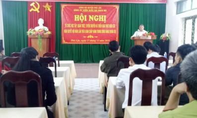 Đảng Ủy Vườn quốc gia Bạch Mã tổ chức Hội nghị học tập, quán triệt, tuyên truyền và triển khai thực hiện các Nghị quyết Hội nghị lần thứ 8 Ban chấp hành trung ương Đảng (khóa XII)