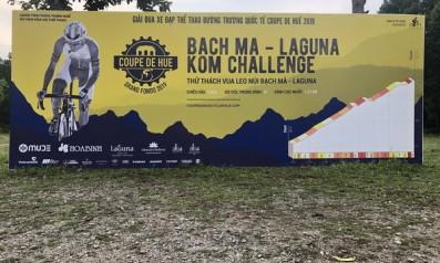 Giải đua xe đạp quốc tế đường trường Coupe De Huế năm 2019, chinh phục đỉnh Bạch Mã