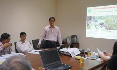 """Vườn quốc gia Bạch Mã tổ chức Hội thảo """" Lấy ý kiến chuyên gia, các nhà khoa học của Trung ương về nội dung hồ sơ đề cử Vườn di sản ASEAN – VQG Bạch Mã"""""""