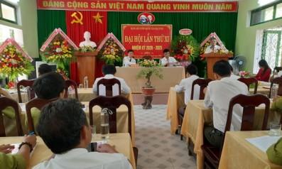 Đảng bộ vườn quốc gia Bạch Mã tổ chức Đại hội lần thứ XI nhiệm kỳ 2020 - 2025