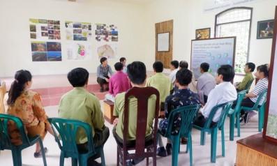 Vườn quốc gia Bạch Mã tổ chức tập huấn nghiệp vụ thuyết minh viên tại điểm năm 2018