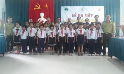 Vườn quốc gia Bạch Mã phối hợp với các trường trên địa bàn vùng đệm tổ chức lễ ra mắt các Câu lạc bộ kiểm lâm tí hon
