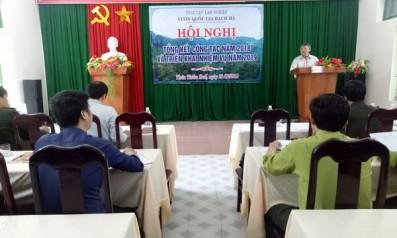 Vườn quốc gia Bạch Mã tổ chức Hội nghị tổng kết công tác năm 2018 và triển khai nhiệm vụ năm 2019