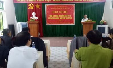 Đảng ủy Vườn quốc gia Bạch Mã tổ chức Hội nghị tổng kết công tác Đảng năm 2019 và phương hướng nhiệm vụ năm 2020