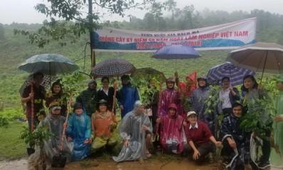 Vườn quốc gia Bạch Mã tổ chức trồng cây nhân dịp kỷ niệm 59 năm ngày lâm nghiệp Việt Nam (28/11/1959 – 28/11/2018)